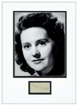 Odette Churchill Autograph Signed Display